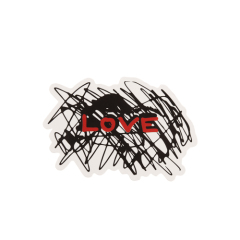 Love Custom Stickers