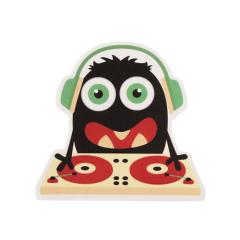 Monster DJ Custom Stickers