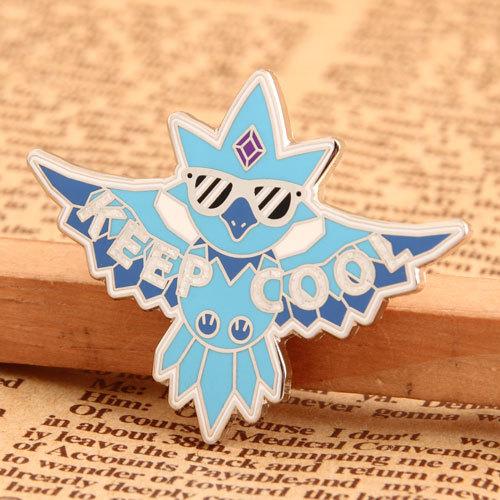 Keep Cool Custom Pins