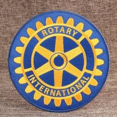 Rotary International Cheap Custom Patches