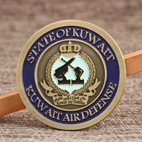 Kuwait Air Force Challenge Coins