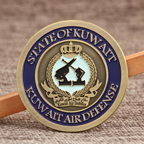 Kuwait Air Force Challenge Coins
