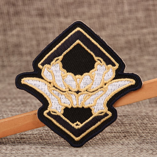 Yellow Lily Small Order Custom Patches