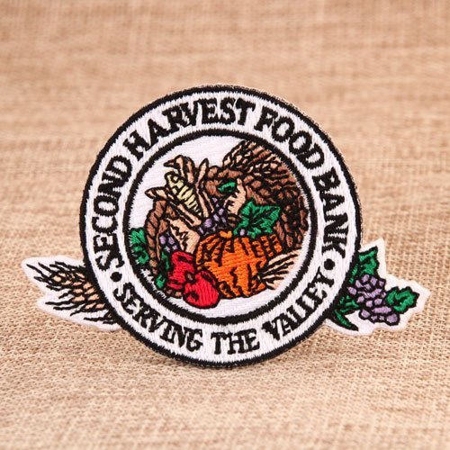 Food Bank Custom Sew On Patches