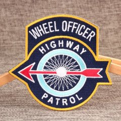 WHEEL OFFICER Embroidered Patches