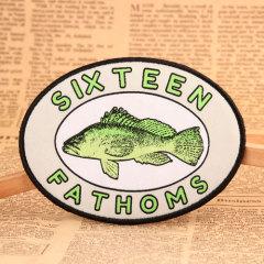 Fish Woven Patches No Minimum