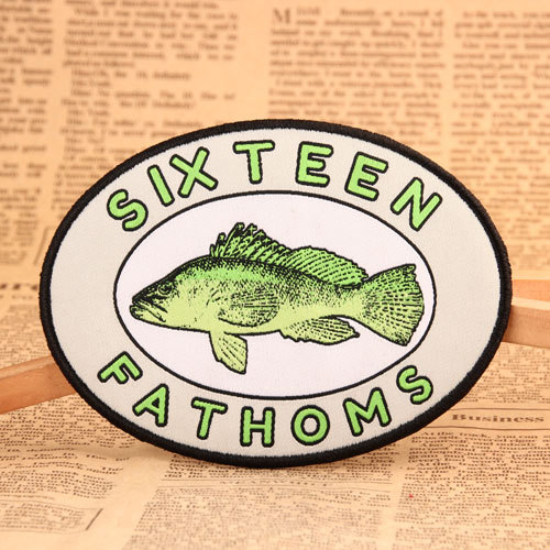 Fish Woven Patches No Minimum