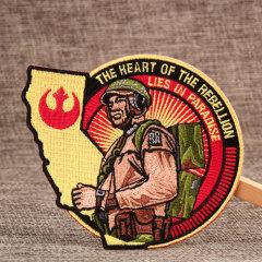 Rebellion Custom Military Patches No Minimum Order