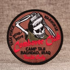 Combover Club Custom Patches for clothes