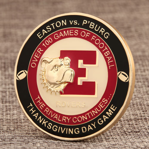 Rivalry Game Challenge Coins