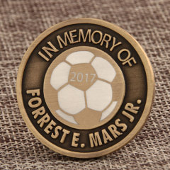 Soccer Challenge Coins