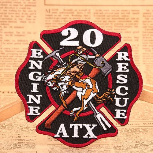20 Iron On Embroidered Patches