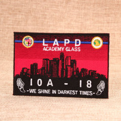 Lapd Academy Class Make Custom Patches