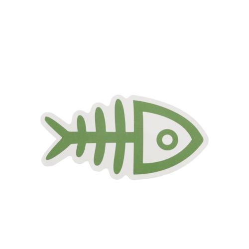 Fish Bones Custom Stickers