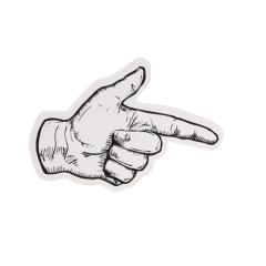 Gesture Custom Stickers
