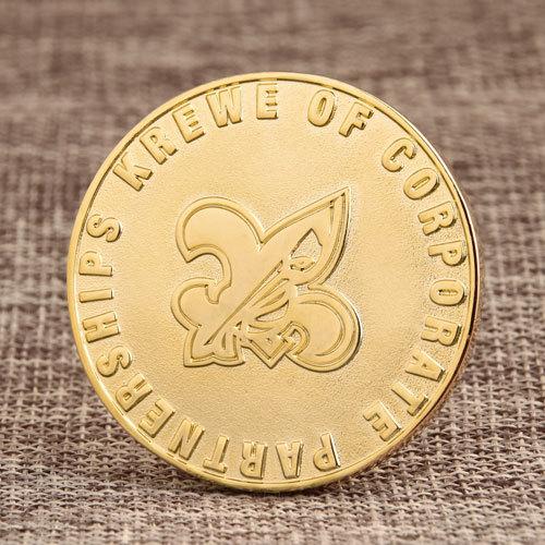 Krewe Corporate Custom Coins