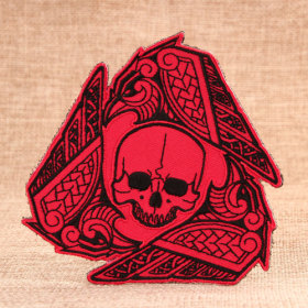 The Skull Man Custom Made Patches