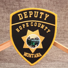 DEPUTY Custom Embroidered Patches