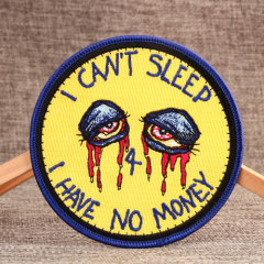 I CAN'T SLEEP Funny Patches