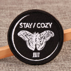 Cozy Cheap Custom Embroidered Patches
