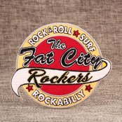 The Fat City Band Embroidered Patches