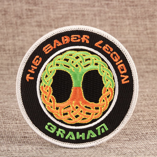 Graham Custom Embroidered Patches