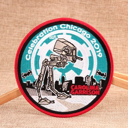 Celebration Chicago Custom Patches