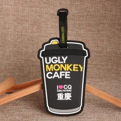 Milky Tea PVC Luggage Tag