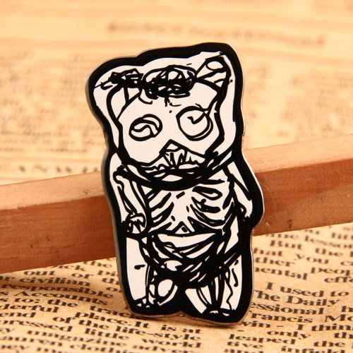 Bone Bear Custom Lapel Pins