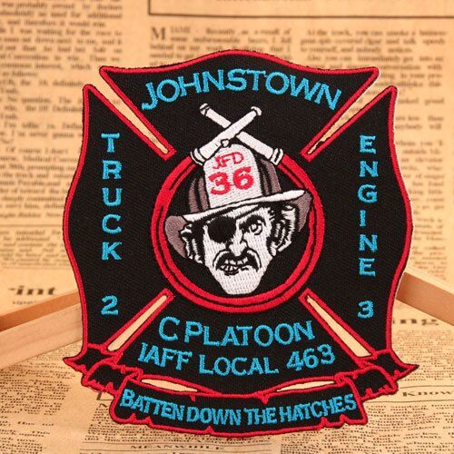 JFD 36 Custom Embroidered Patches