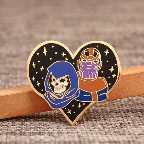 Love & Evil Custom Pins