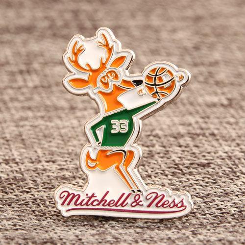 Mitchell & Ness Custom Lapel Pins
