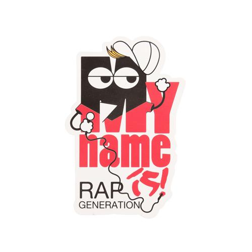 Rap Generation Custom Stickers