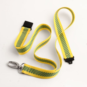Energy Safety Canada Yellow Lanyards