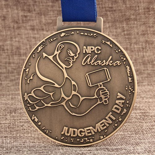 Alaska NPC Custom Made Medals