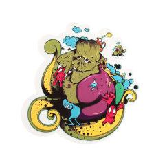 Dirty Octopus Custom Stickers
