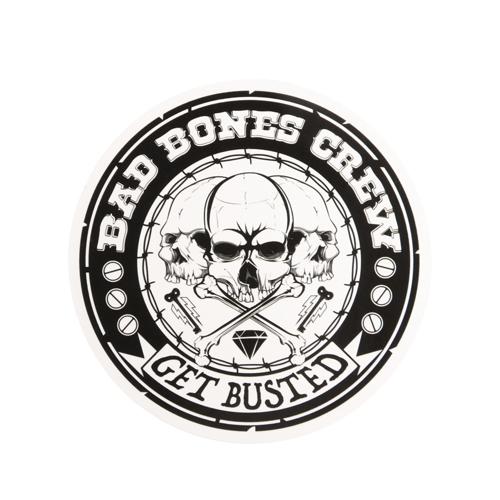 Bad Bones Crew Custom Stickers
