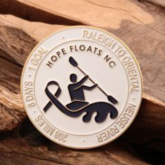 Hope Floats NC Custom Challenge Coins