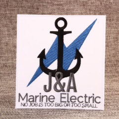 Marine Electric Order Custom Patches Online