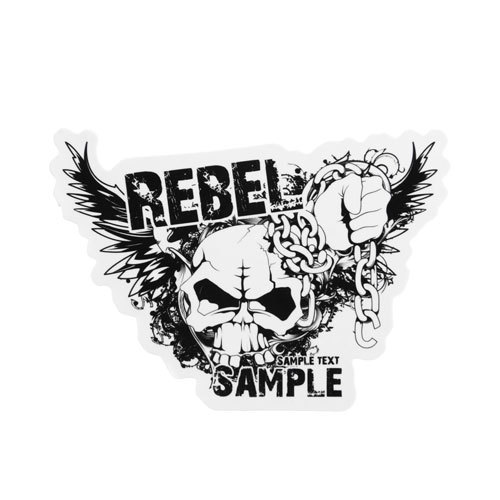 Rebel Sample Custom Stickers