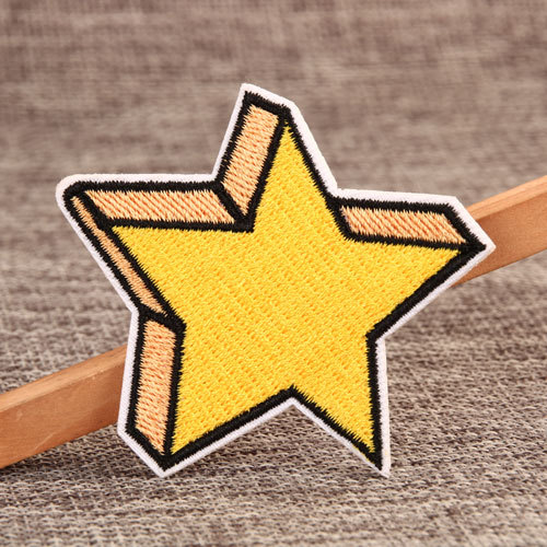 Star Order Embroidered Patches