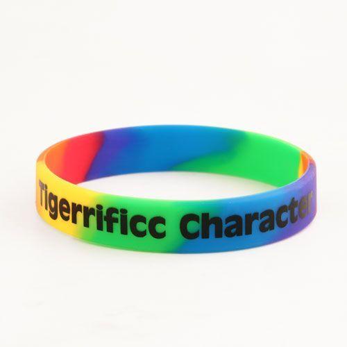 Tigerrificc Character Segmented Wristbands