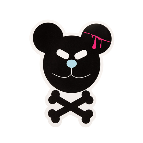 Evil Mouse Custom Stickers