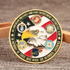 Nam Knights Custom Challenge Coins