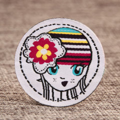 Flower Girl Personalized Patches