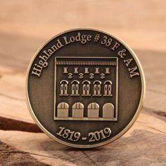 Highland Lodge Challenge Coins