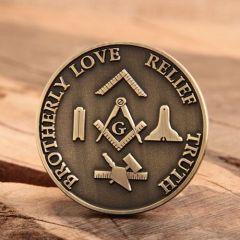 Highland Lodge Challenge Coins