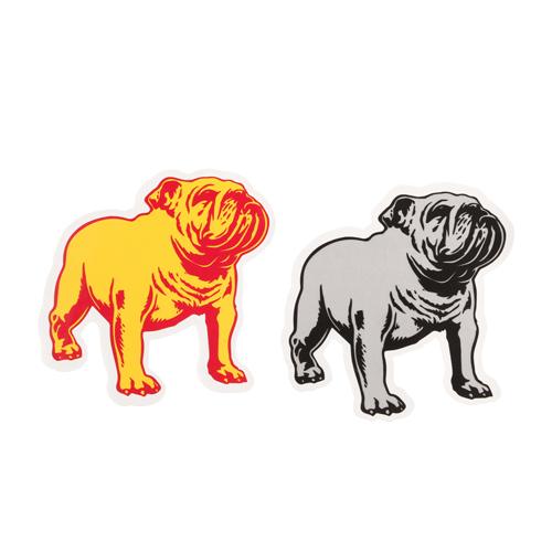 Two Bulldogs Custom Stickers