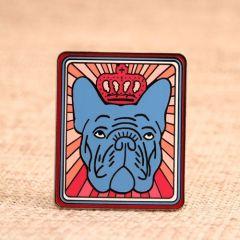 Bulldog Custom Lapel Pins