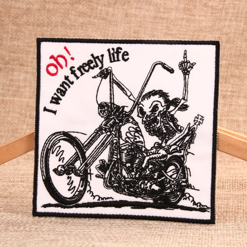 Freely Life Order Custom Patches